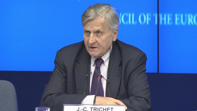 Jean-Claude Trichet - 'Package contains the necessary elements for the sustainable stabilisation of the Irish economy'