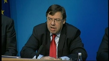 RTÉ.ie Extra Video: Taoiseach Brian Cowen holds a news conference in Government Buildings on the EU/IMF rescue deal for Ireland