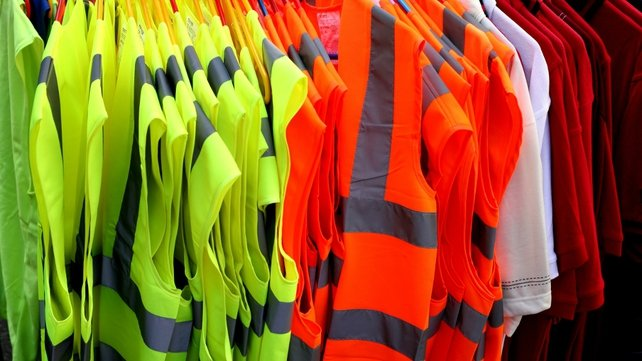 A number of high-visibility vests are being replaced by the RSA