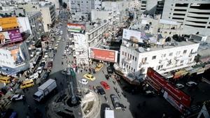 A bird's eye view of Ramallah