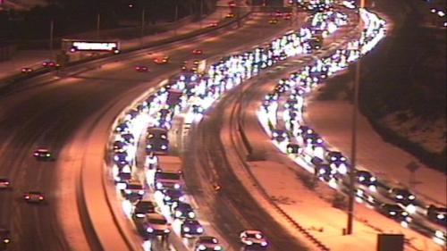 M50 - Long traffic delays