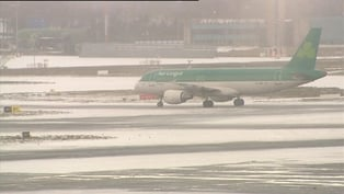 Dublin Airport - Closed until tomorrow morning
