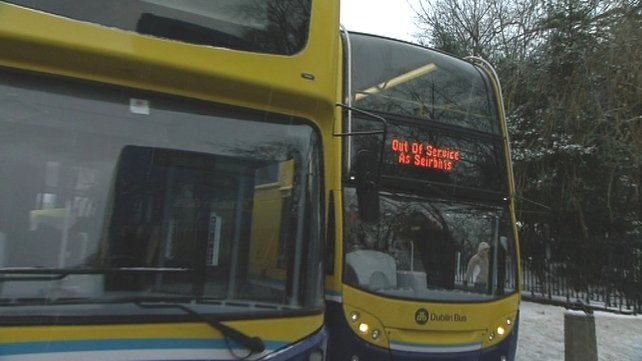 Dublin Bus wants a continuing pay freeze to the end of December 2014