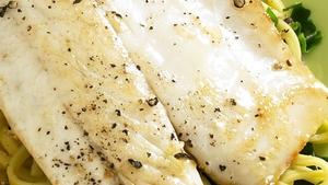 Stephane Reynaud's Parmesan Crusted Fish