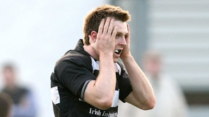 John Kennedy of Old Belvedere may look like this when he finds out his team's game with Garryowen has been cancelled