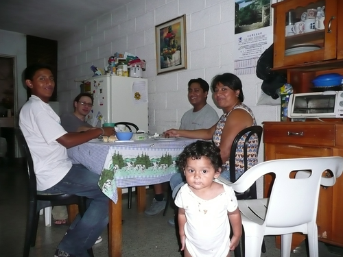 Natalie and Jacobo's Foster family in Guatemala