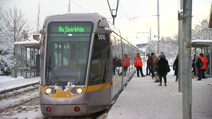 Luas drivers demand more pay