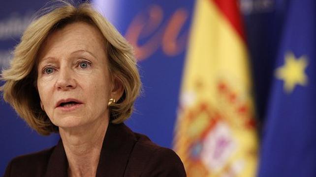 Elena Salgado - Said economic fundamentals did not justify high risk premiums