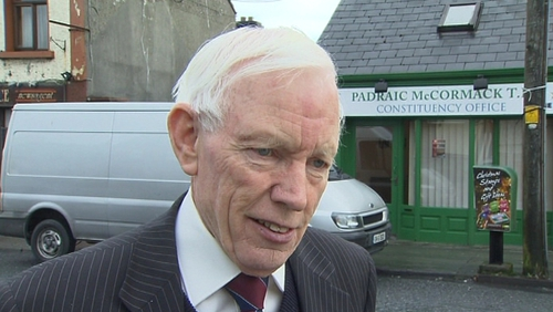 Padraic McCormack - Weather may have affected vote