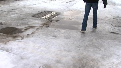 Footpaths - Treacherous in places