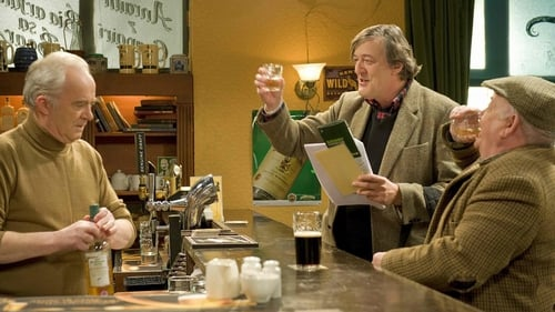 Stephen Fry tried out his Irish in his cameo apperance on TG4's Ros na Run