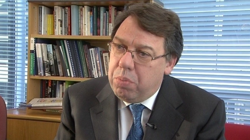 Brian Cowen - Satisfaction rating drops to 14%