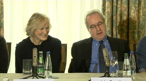 Glenn Close and John Banville discuss working together on the film script