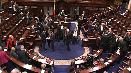 Dáil - Social Welfare Bill is passed