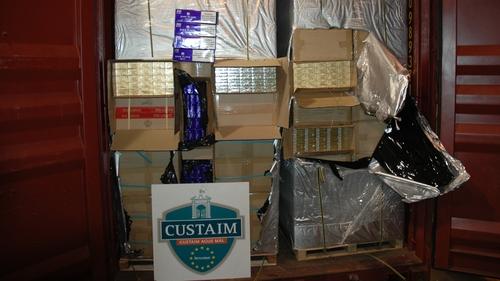 Customs officers seize 12 million cigarettes