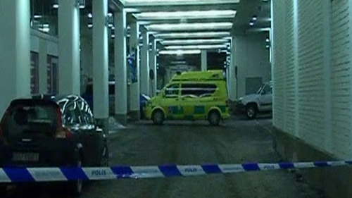 Sweden - Two people were hospitalised