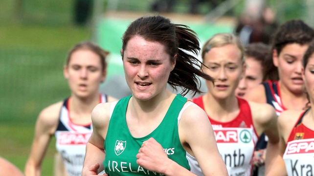 Ciara Mageen finished seventh earlier today