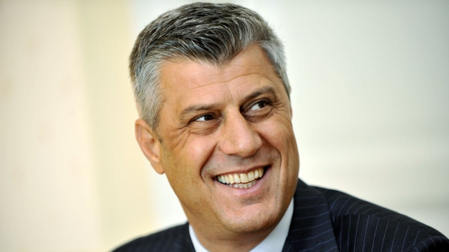 Hashim Thaci - 95% of voters cast their ballots in Drenica