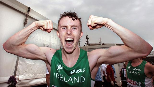 Brendan O'Neill celebrates