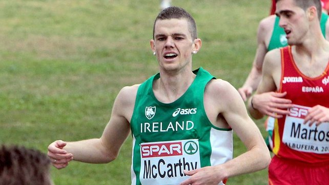 David McCarthy has made the standard for the European Athletics Indoor Championships