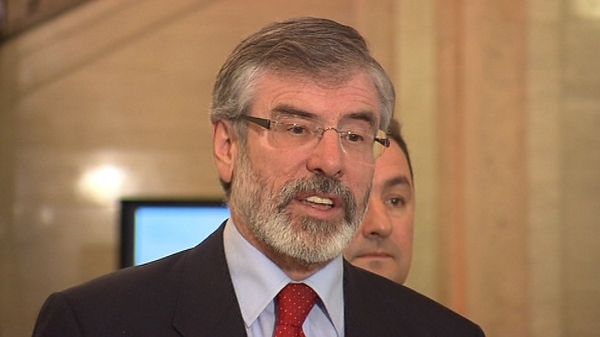 Gerry Adams - No party has a mandate for the next Dáil as yet
