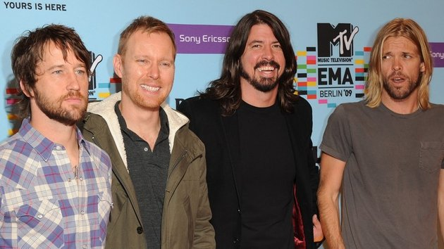 Foo Fighters - responding positively to crowd-funding campaign