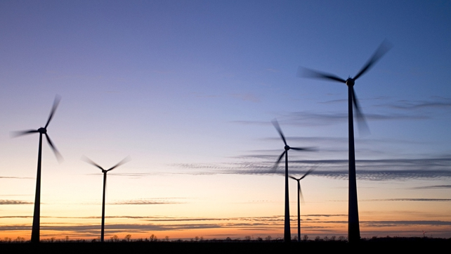 Wind sector - Investment dropped 58% last year