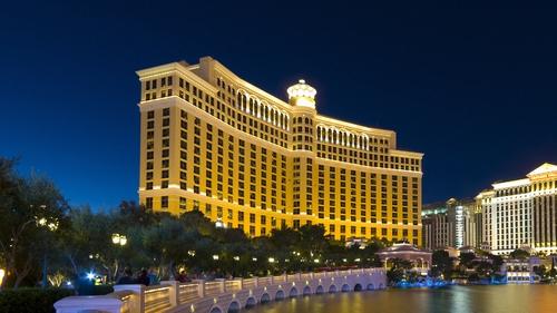 controls at the bellagio casino resort