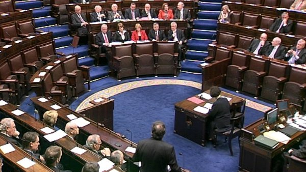 Dáil - Opposition accused the Government of rushing the Bill through the House