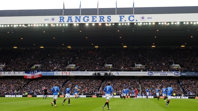 Ibrox may not host Scottish Premier League football next season
