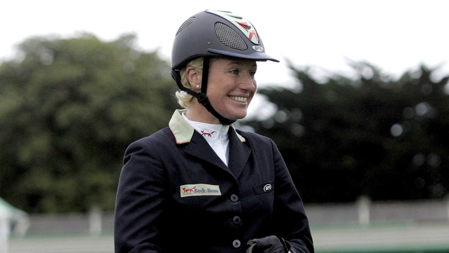 Jessica Kurten's fine form continued in Austria, where she captured the Grand Prix at the three-star show