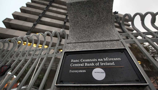 The Central Bank said it was liaising with gardaí on the Anglo transcripts