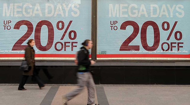 A rise in seasonal spending during the January sales helped boost consumer sentiment