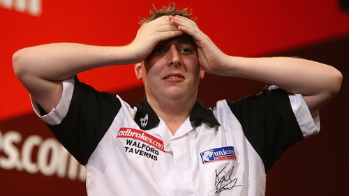 Kirk Shepherd made a first round exit at the PDC Ladbrokes.com World Darts Championship
