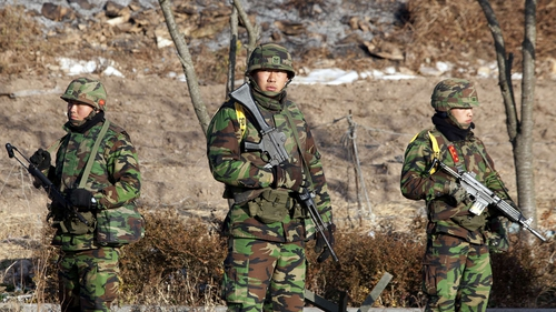 South Korea - Military drill has increased tension