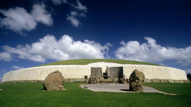 Newgrange was built more than 5,000 years ago