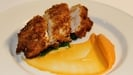Crabmeat Stuffed Chicken with Lobster and Brandy Sauce