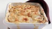 Gratin of Potatoes - Cathal Armstrong serves up delicious gratin of potatoes.