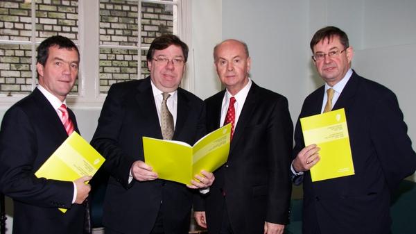 Brian Cowen - Hopes for a stronger Irish language