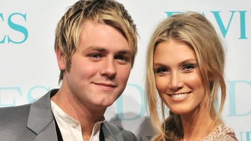Mc Fadden pictured with former love Delta Goodrem