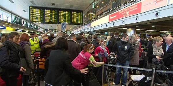 Dublin Airport - Flights suspended until 5am
