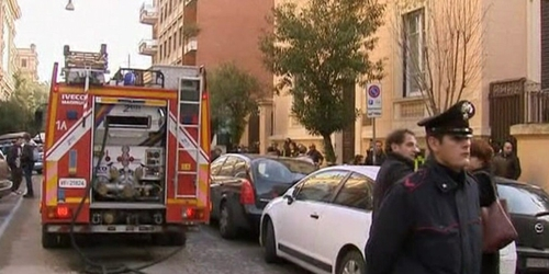 Rome - Police searching embassies