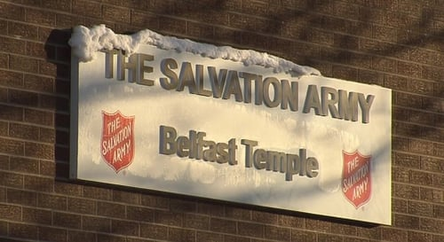 Belfast - Annual Christmas Dinner at Salvation Army