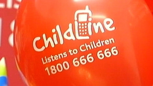 Childline - Many calls from children who were depressed or had family difficulties