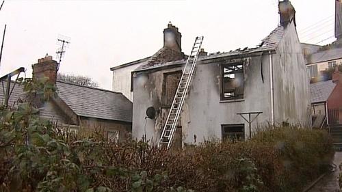 Crosshaven - Fire leaves elderly woman dead
