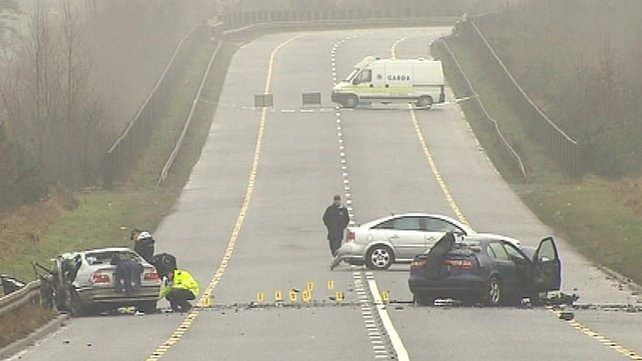 A pregnant woman and two men died in the head-on collision on 27 December 2010