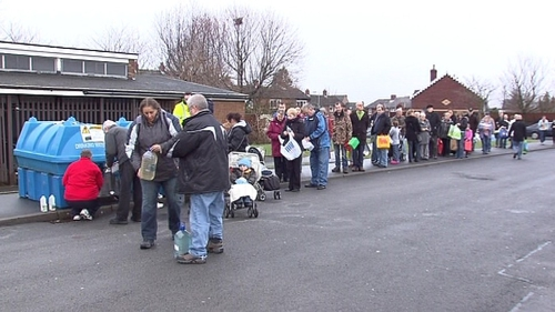 Northern Ireland - Major Disruption to water services