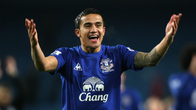 Tim Cahill looks set to be playing State-side with New York Red Bulls