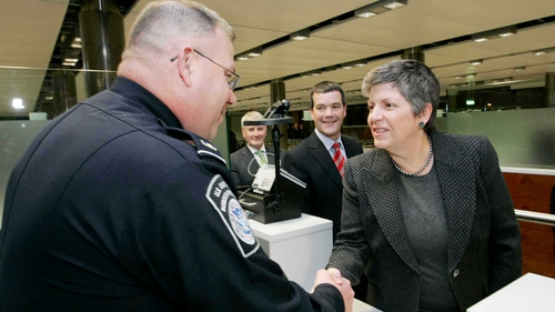 Janet Napolitano - Visit by US Secretary for Homeland Security