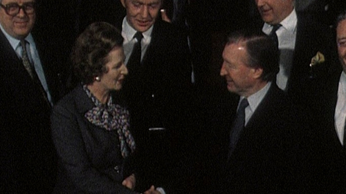 Thatcher & Haughey - Thousands of documents released this morning